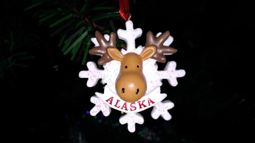 Alaska 2017 Ornament