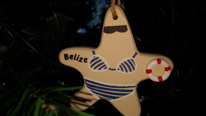 Belize Ornament